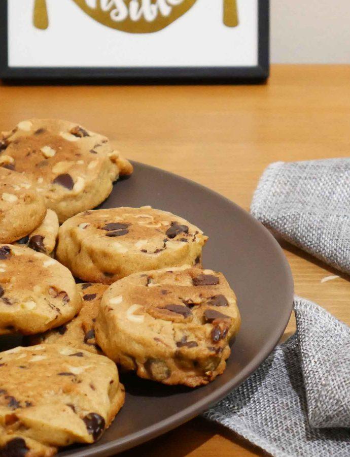 Cookies chocolat & noix