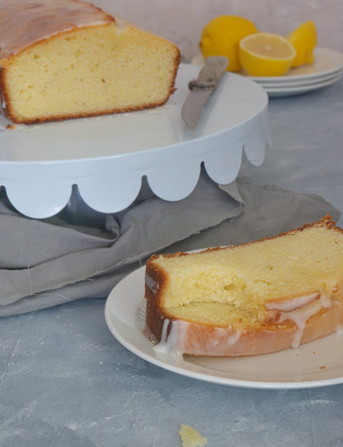 Cake au citron…Très citronné